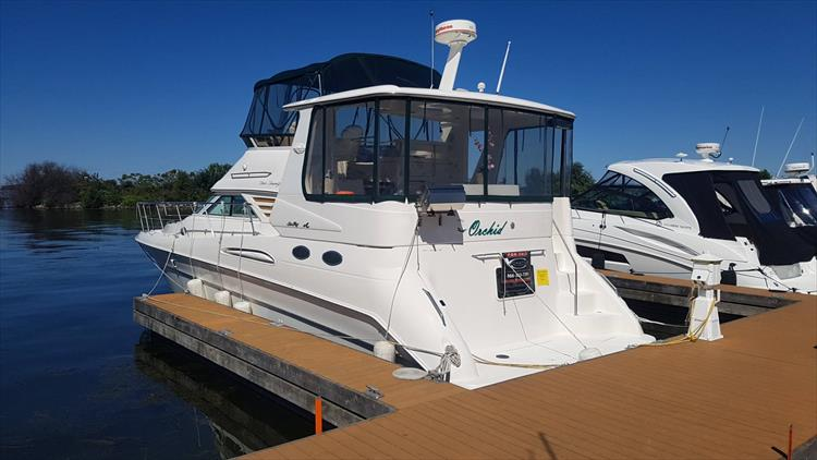 1999 Sea Ray 420 Aft Cabin - Crate's Lake Country Boats
