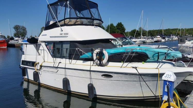 1991 Carver 2808 Aft Cabin Crate S Lake Country Boats