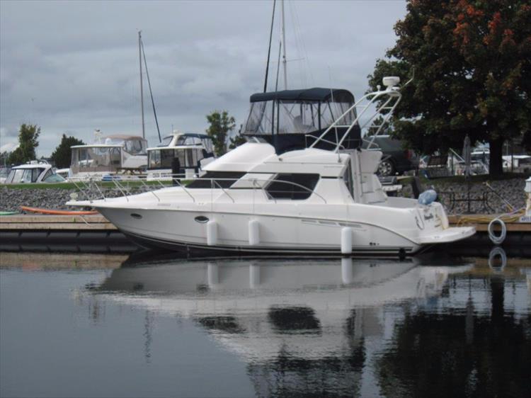 2001 Silverton 35 Sedan Crate S Lake Country Boats New
