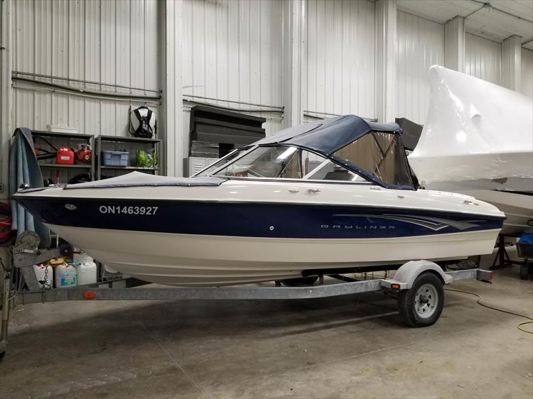 Photo 1 of 15 - 2008 Bayliner 185 Bowrider for sale