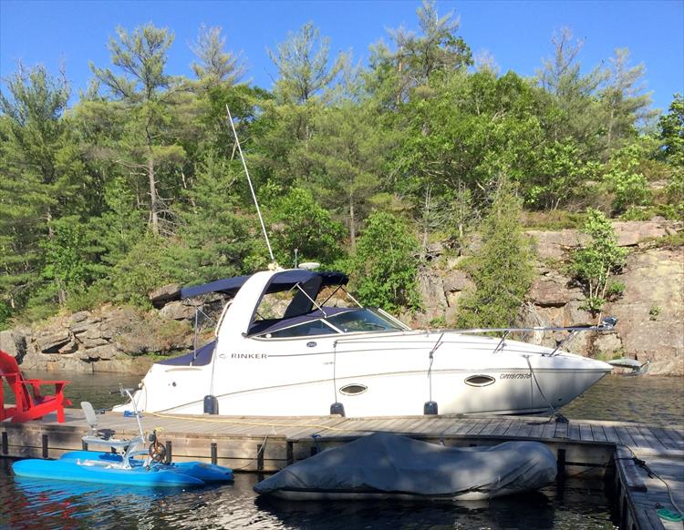 Photo 1 of 11 - 2008 Rinker 260 Express for sale